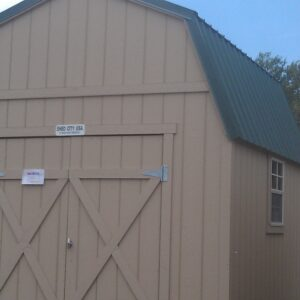 12′  x 24′ Loft Style wood shed – In Craig.'s feature image