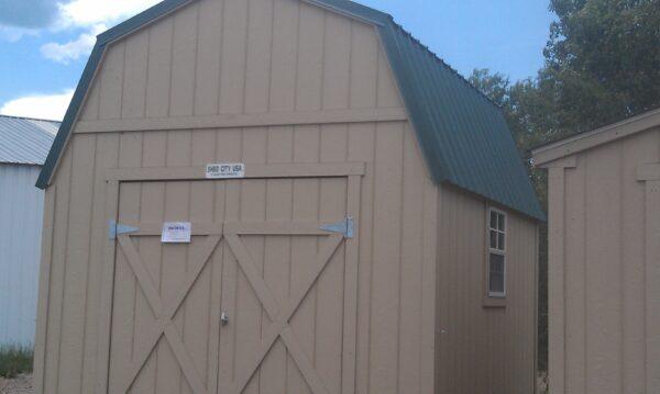 Loft Style wood shed