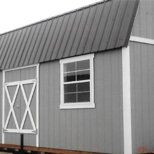 Split Loft Style Wood Storage Sheds's feature image
