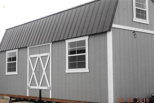 Split Loft Style wood shed
