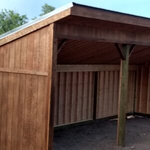 Permanent Horse Shelters with Tack Room's feature image