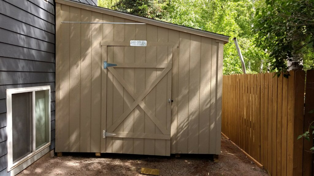 Lean To Style Wood Storage Sheds Shed City Usa Shed