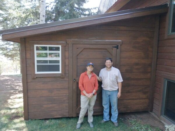 Lean to with Horizontal T111 siding