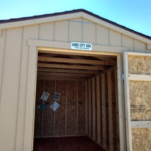 8′ x 16′ Ranch style wood shed – In Glenwood Springs. SALE's feature image