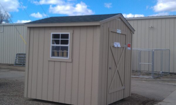 8' X 8' Ranch Style wood shed