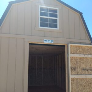 10′ x 12′ Loft Style wood shed – Located in Steamboat Springs's feature image