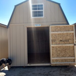 Loft Shed with Smart Panel