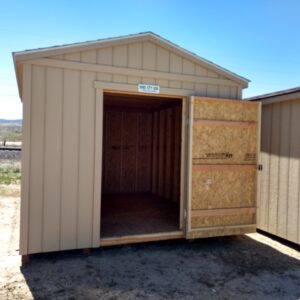 8′ x 8′ Ranch Style shed in Craig's feature image