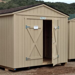 10′ x 20′ Ranch style wood shed – In Glenwood Springs.'s feature image