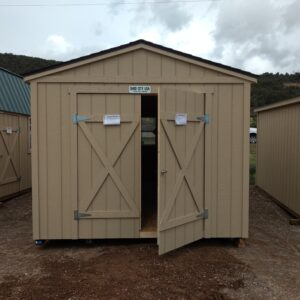 ranch style wood shed