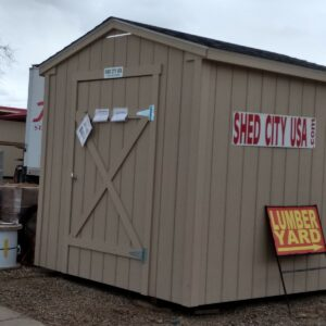 8′ x 8′ Ranch Style shed in Rangely's feature image