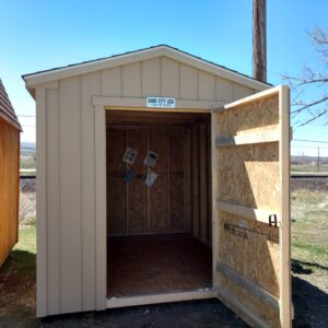 8' x 10' Ranch style wood shed