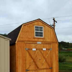 8′ x 16′ Loft Style wood shed with T-111 Siding – in Steamboat Springs's feature image