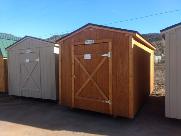Ranch Style wood shed with T-111