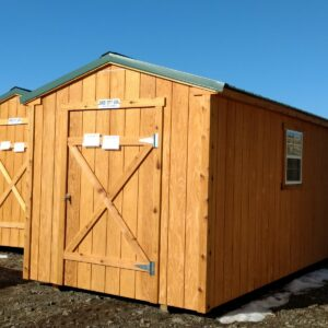 8′ x 16′ Ranch Style wood shed w/ T-111 – In Glenwood Springs's feature image