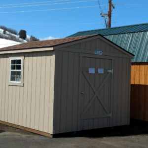 10′ x 12′ Ranch Style wood shed – In Steamboat Springs's feature image