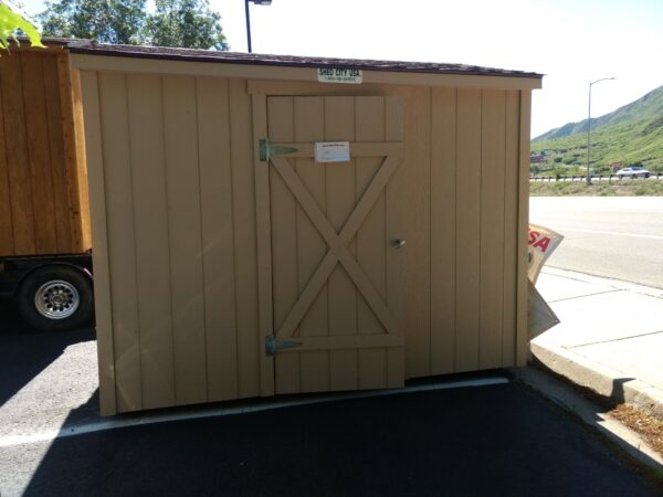 8x10 ranch style shed