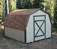 Barn Style wood shed