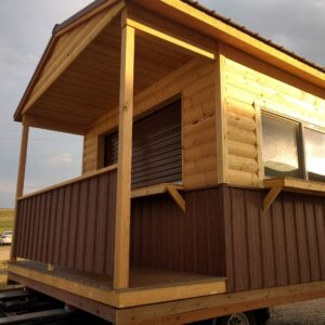 12′  x 14′ Custom Ranch Style wood shed. In Craig's feature image