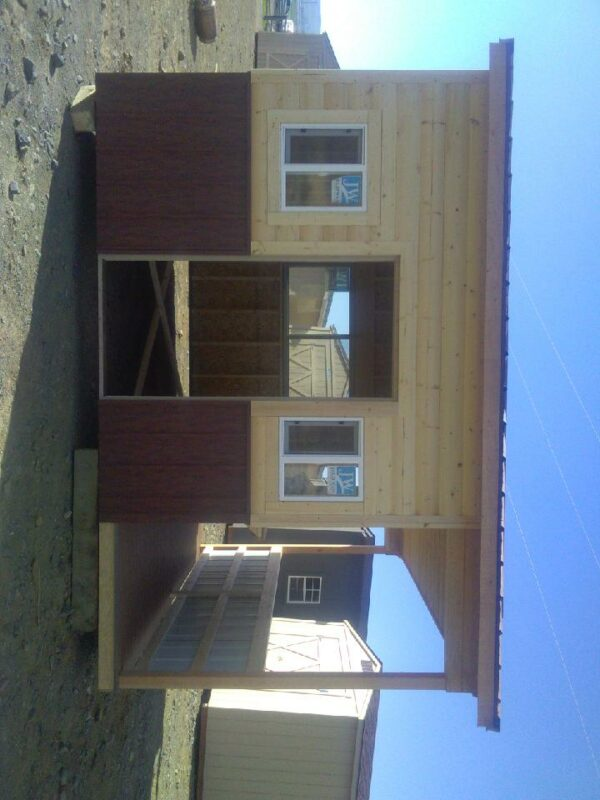 Side of Custom shed